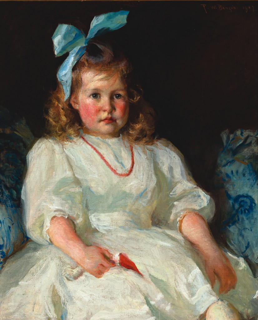 """Frank Benson's """"Elizabeth Tyson Russell"""". Courtesy of the Manoogian Collection."""