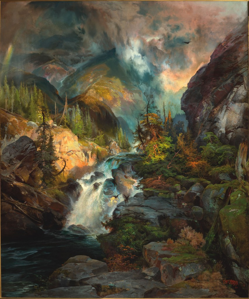 """Thomas Moran's """"Children Of The Mountain,"""" at The Broadmoor. Courtesy of The Broadmoor."""