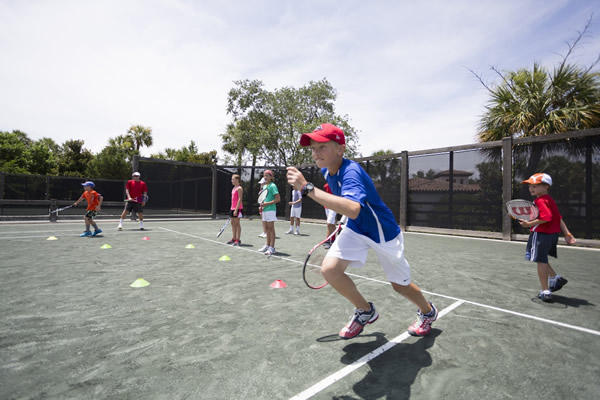 Clinics designed especially with young athletes in mind teach children while they have fun.