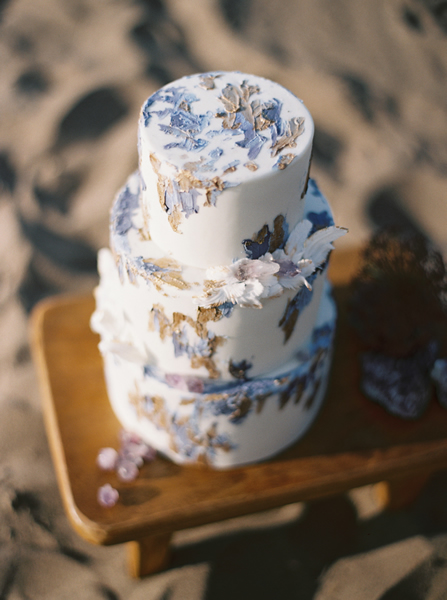 Many cakes incorporate elements of art or nature. | Photo by Katie Grant Photography