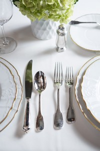 Silver collections like Sea Island's provide a link to the past and add a touch of elegance to any table.   Photo by Chris Moncus Photography