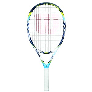 A racket from the Wilson Juice line